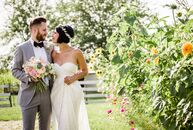 What happens with international to-be-weds plan the farm wedding of their dreams? A sweet, outdoor celebration filled with dozens of DIY details, of c