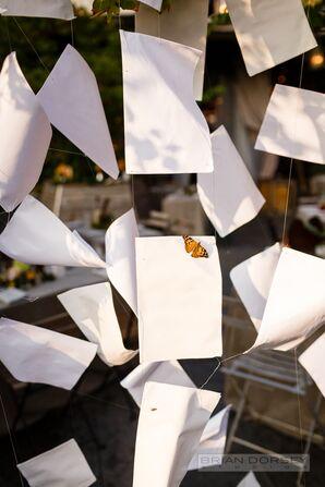 Printer Paper Hanging Installation