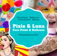 Decatur, GA Face Painting | Pixie and Luna Face Paint and Balloons