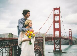 Mackenzie and Sheehan, star-crossed lovers from San Diego, decided on a beautiful elopement on the Golden Gate Bridge. After much debate, the couple d