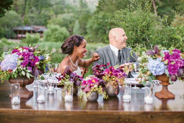 """I wanted the wedding to be not only stylish but also a fun party that everyone would enjoy,"" Steven says. ""A wine tasting the day before gave our guests a chance to get to know each other, so when it came to the actual wedding, folks were already friendly and ready to kick back."""