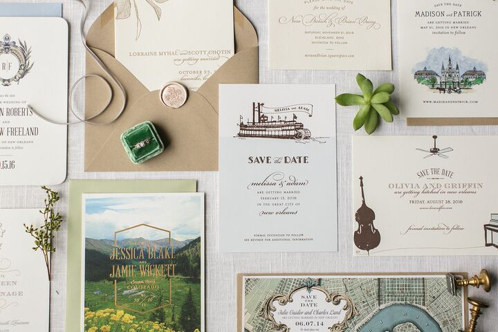 gallery - New Orleans Wedding Invitations