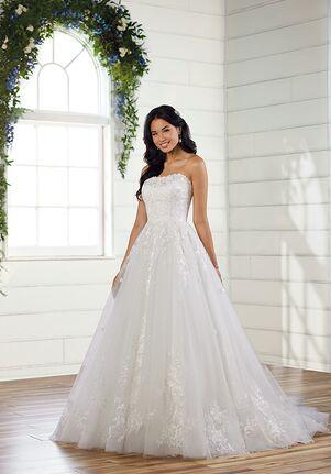 Essense of Australia D3039 Ball Gown Wedding Dress