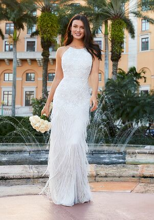 Adrianna Papell Platinum Destination 40313 Wedding Dress