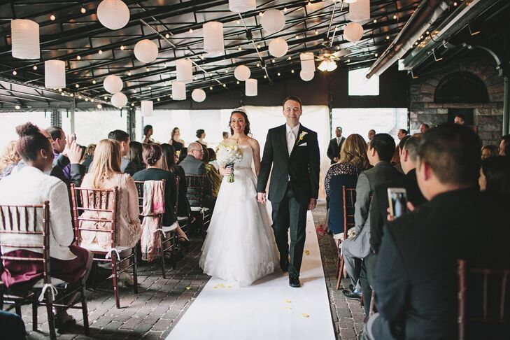 A Cheerful Spring Wedding At Gandy Dancer In Ann Arbor Michigan