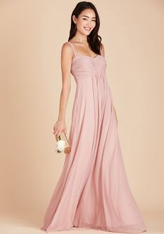 Birdy Grey Maria Convertible Dress in Rose Quartz Sweetheart Bridesmaid Dress