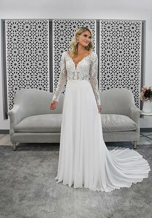 Stella York 7291 A-Line Wedding Dress
