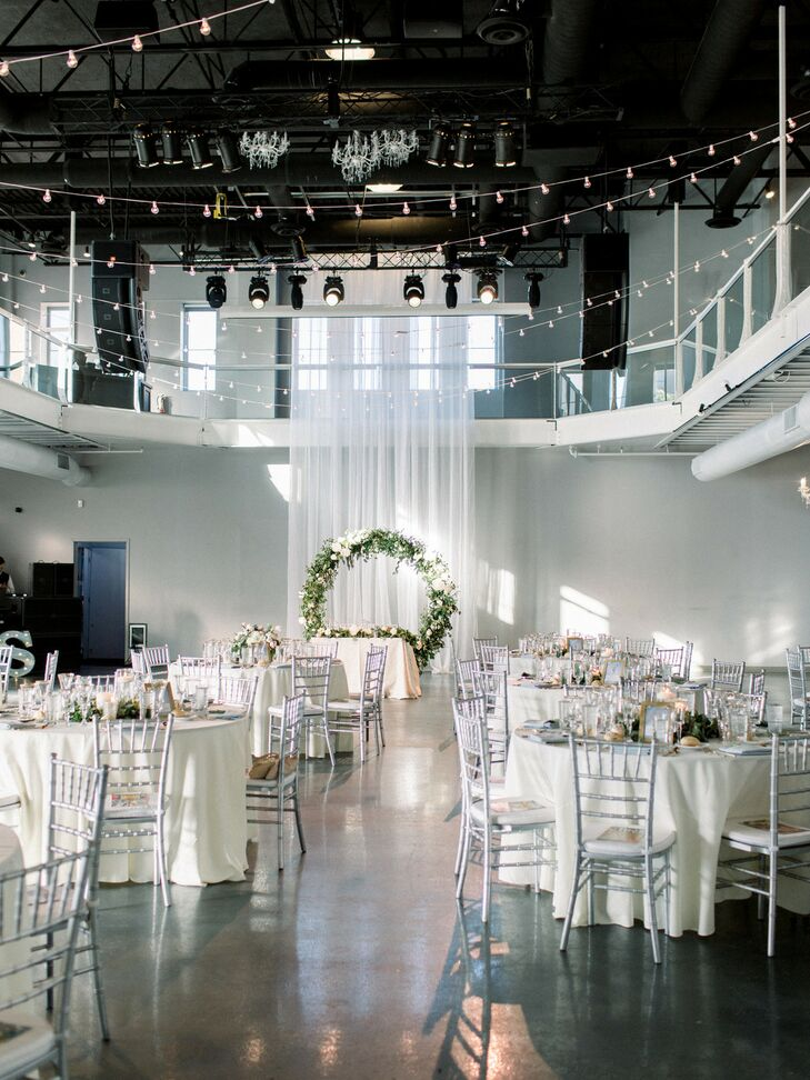 Loft Setup at Industrial Chic Wedding in Downtown Minneapolis