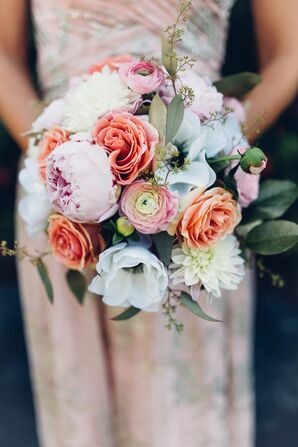 Peony, Rose, Ranunculus and Anemone Bouquet