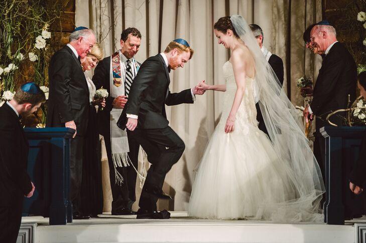 Jewish Wedding Ceremony at Puritan Mill