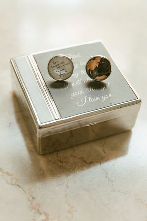 Personalized Cuff Links for Dad