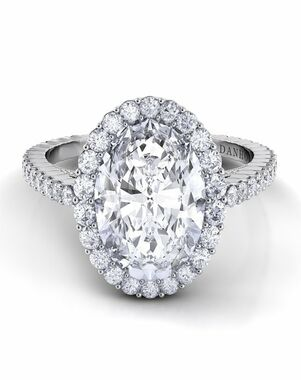 Danhov Oval Cut Engagement Ring