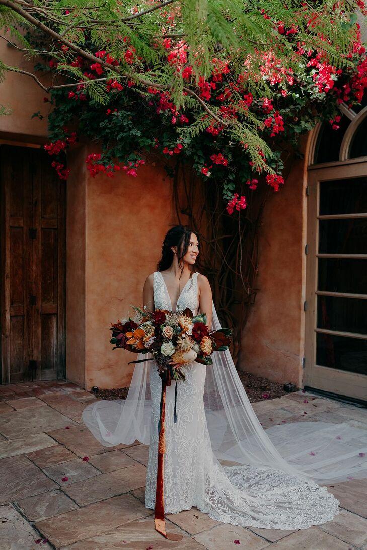 Bridal Portraits at Scottsdale, Arizona, Wedding