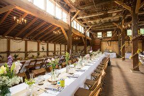 Landis Valley Museum Barn Wedding Reception