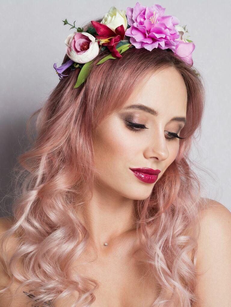 Pastel Hair Hues - 2019 Bridal Beauty Trend