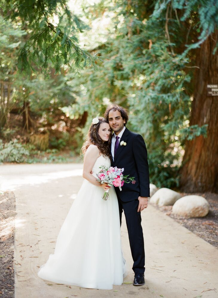 Kalya Paradis (30 and an occupational therapist) met Mike Shahindoust (31 and a mechanical engineer) in Golden Gate Park in San Francisco, California,
