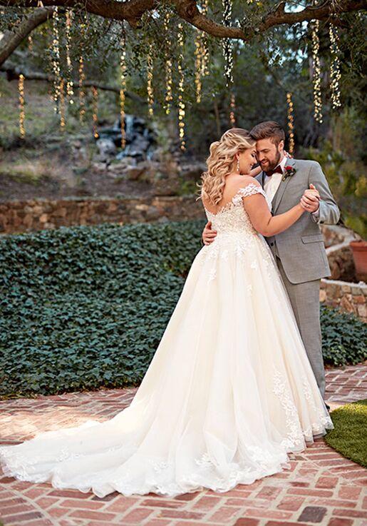 Essense of Australia D2603+ A-Line Wedding Dress