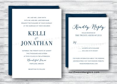 Invitations Paper In Portland Or The Knot