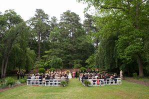 North Carolina Estate Outdoor Ceremony