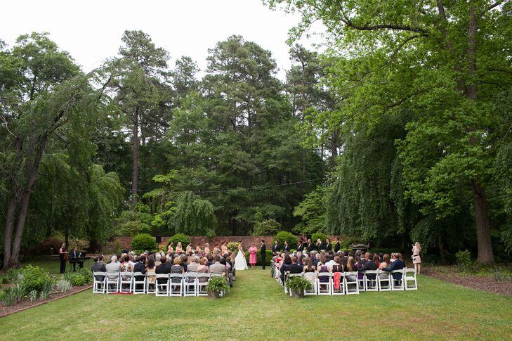 North Carolina Estate Outdoor Ceremony