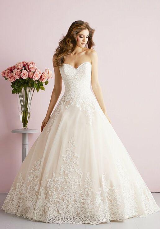 Allure Romance 2701 Ball Gown Wedding Dress