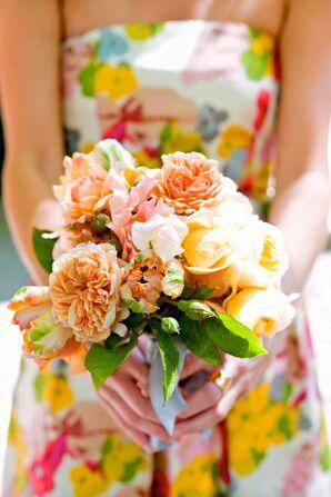 Garden Fresh Bridesmaid Bouquet
