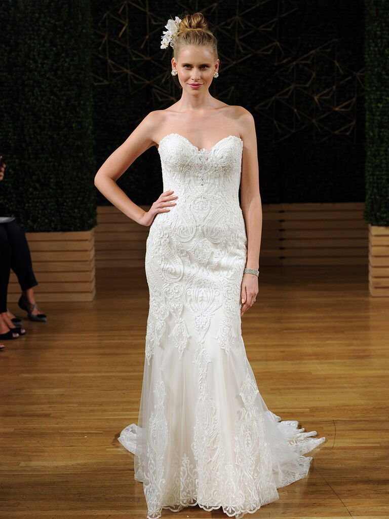 Maggie Sottero Spring 2018 strapless sweetheart wedding dress