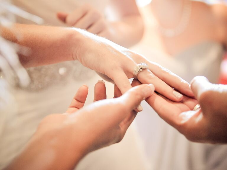 Are You Superstitious About People Trying On Your Engagement Ring