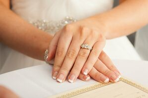 Three-Stone Diamond Engagement Ring