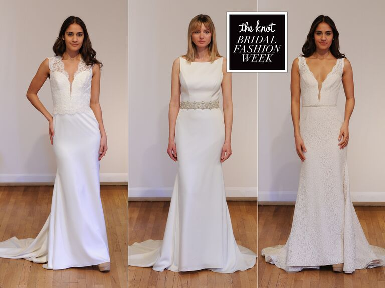 Paloma Blanca Spring Wedding Dresses: Bridal Fashion Week Photos
