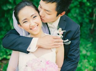 The Bride Julia Chandra, 21, a server at a restaurant The Groom Rendy Hermawan, 21, a sushi chef at the same restaurant The Date July 6  Wanting to in