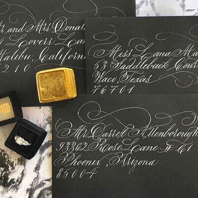 Haute Press Letterpress + Calligraphy