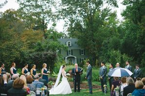 Tree-Lined Open Ceremony Space