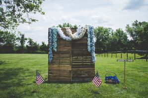Fourth of July-Themed Photo Booth