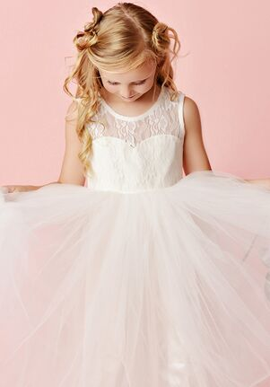 FATTIEPIE charlotte lace Flower Girl Dress