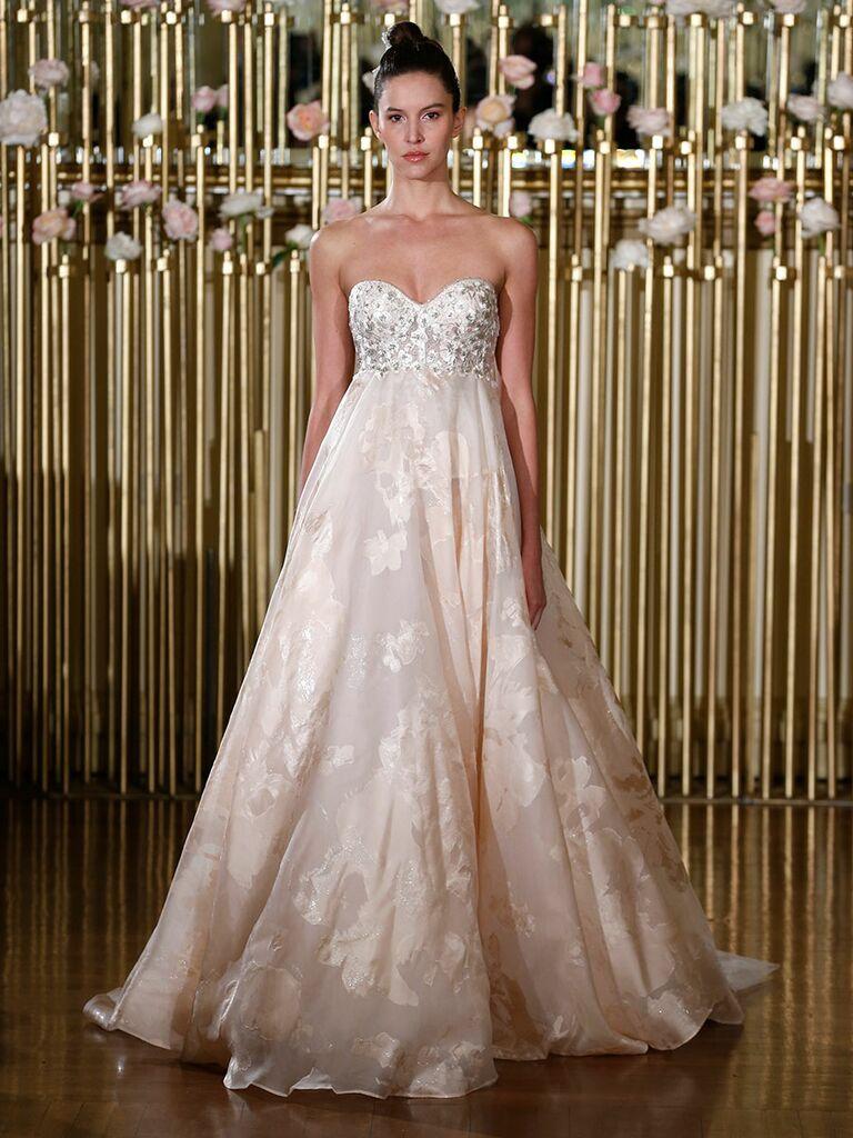 Blush Empire Wedding Dresses
