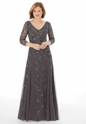 MGNY 72219 Brown Mother Of The Bride Dress