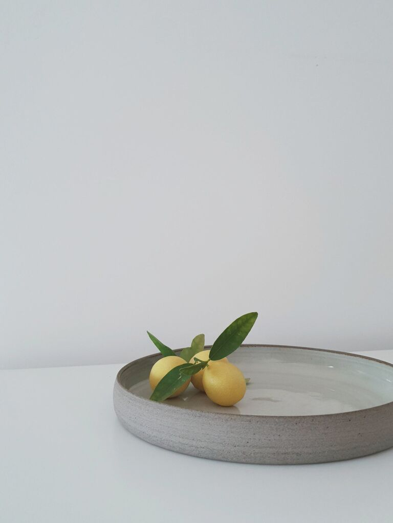 Backyard wedding ideas ceramic tray