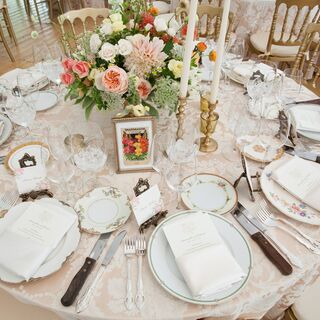 Real Vintage Wedding Decorations