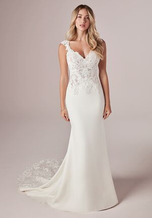 Rebecca Ingram AMY 20RC181 Sheath Wedding Dress