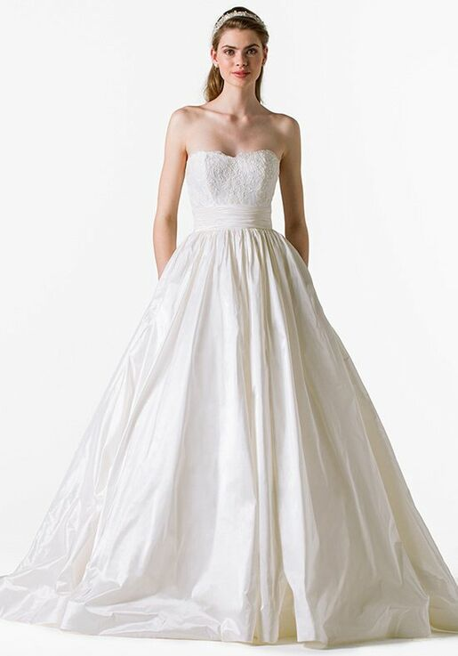 Blue Willow Bride By Anne Barge Charlotte Wedding Dress The Knot