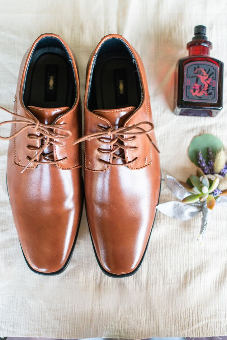 Classic Brown Oxford Shoes