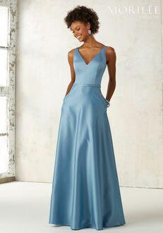 Morilee by Madeline Gardner Bridesmaids 21525 V-Neck Bridesmaid Dress