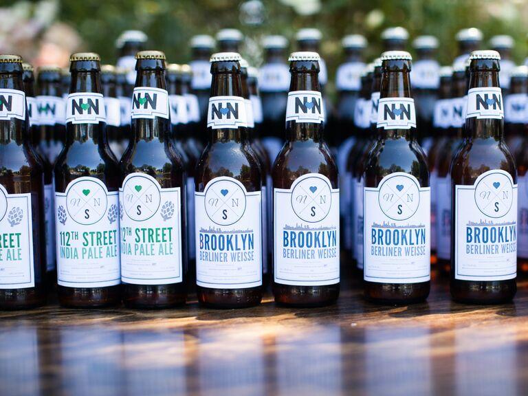 Home brewed beers