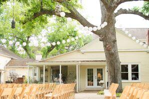 Hodge Podge Lodge Outdoor Lawn Ceremony