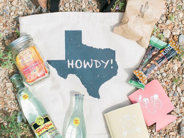 Texas gift bag