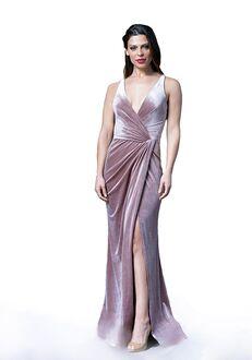 Bari Jay Bridesmaids 2082 V-Neck Bridesmaid Dress