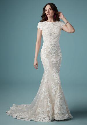 Maggie Sottero TUSCANY LEIGH Sheath Wedding Dress