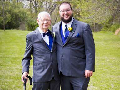 Best man grandpa