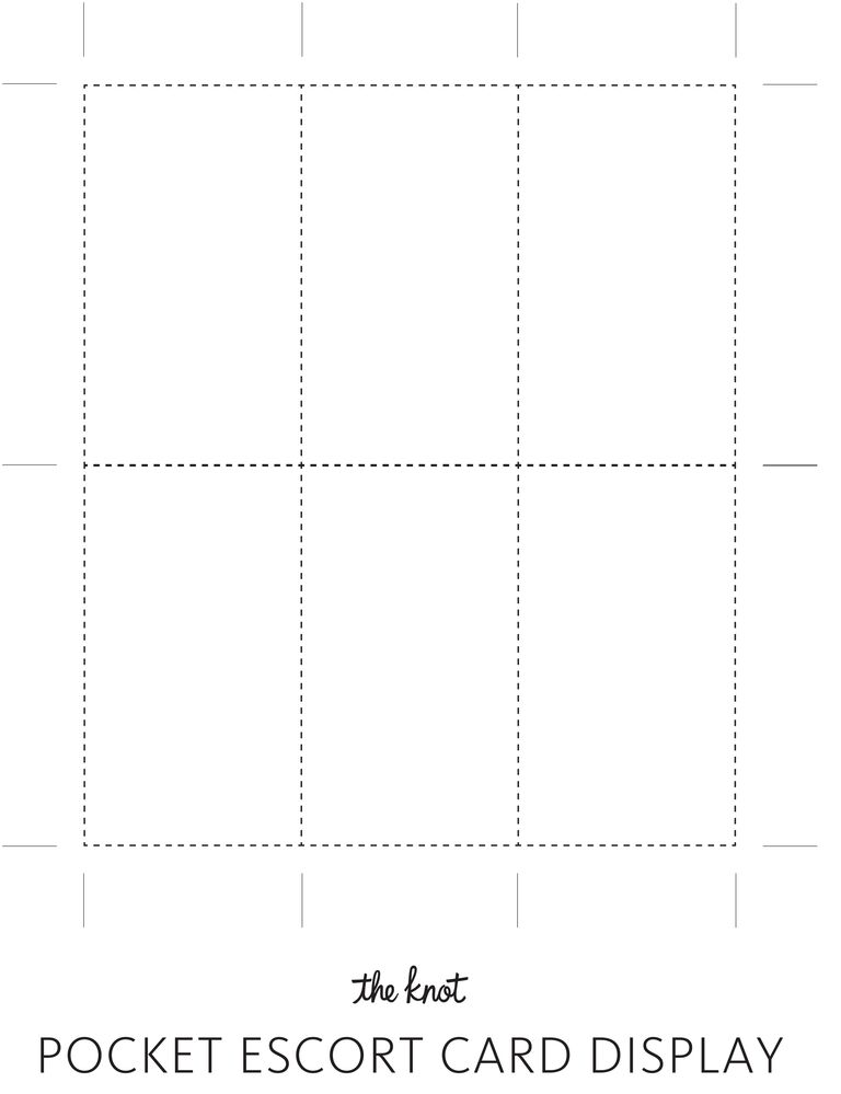 Escort card display template tackling our escort card display diy use this print out to get perfect proportionsits easy we promise maxwellsz